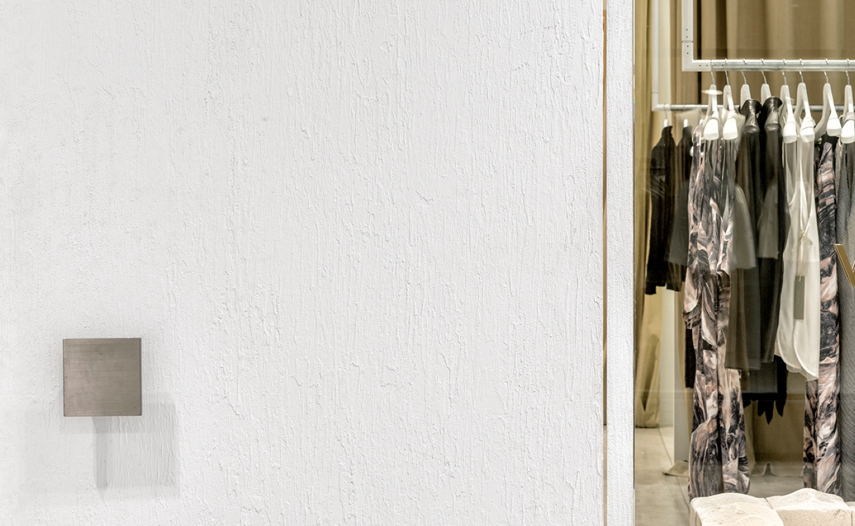 willow door white textured plaster