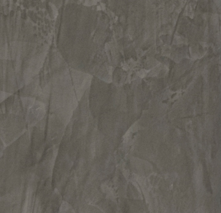 Closeup swatch of polished plaster in grey