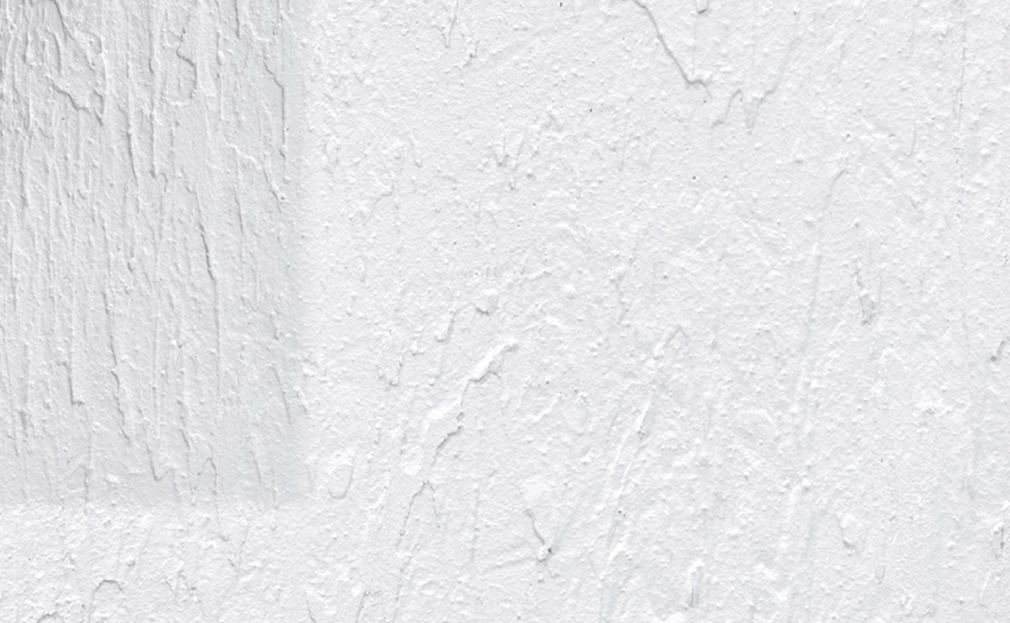 textured wall finish closeup in white