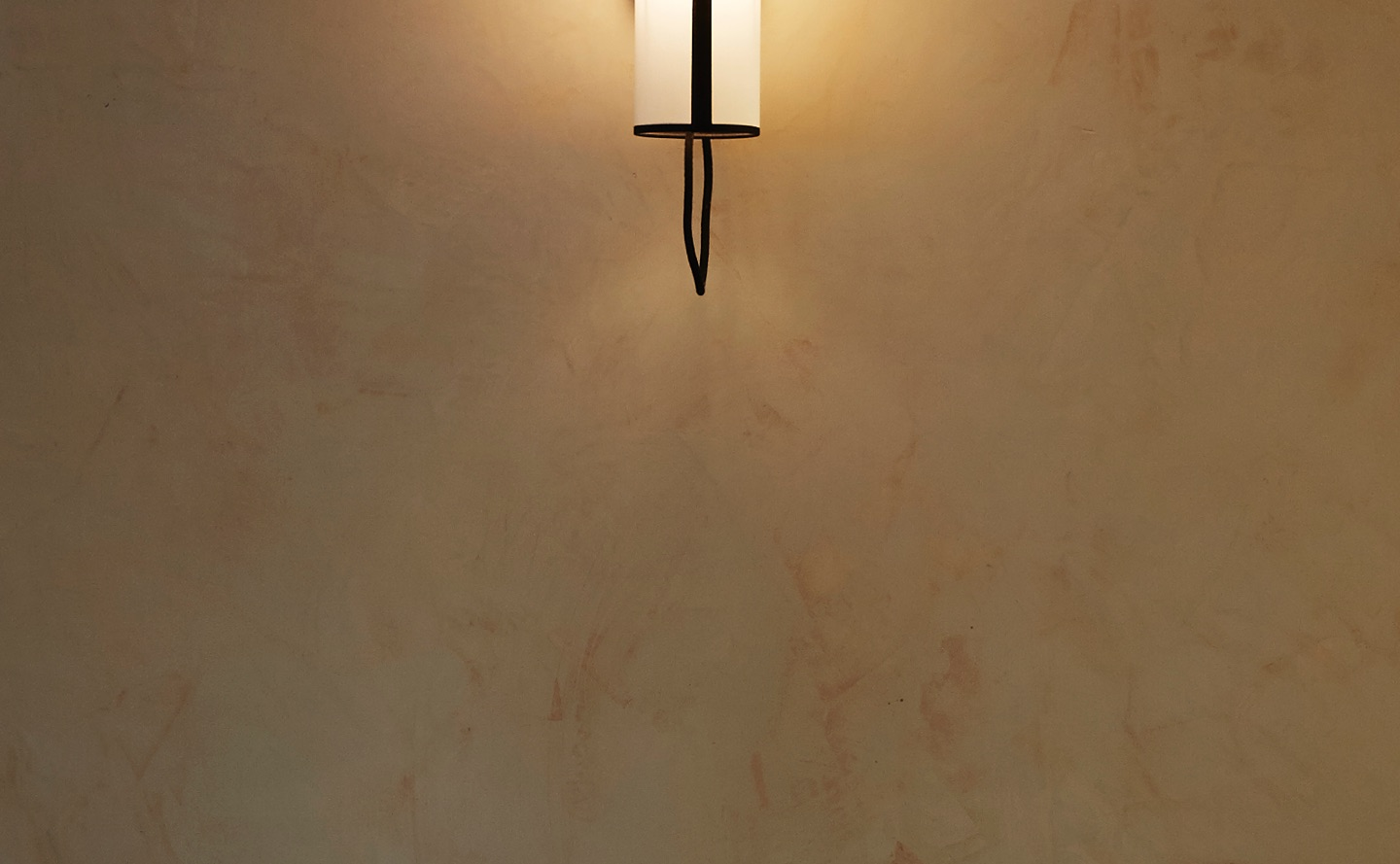 custom polished plaster wall finish hotel gitan with gold wax