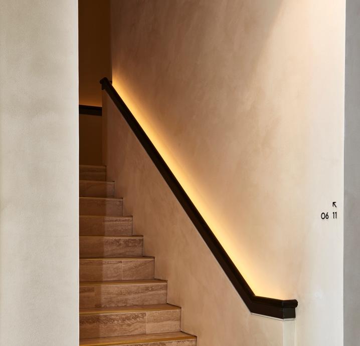 Polished Plaster walls