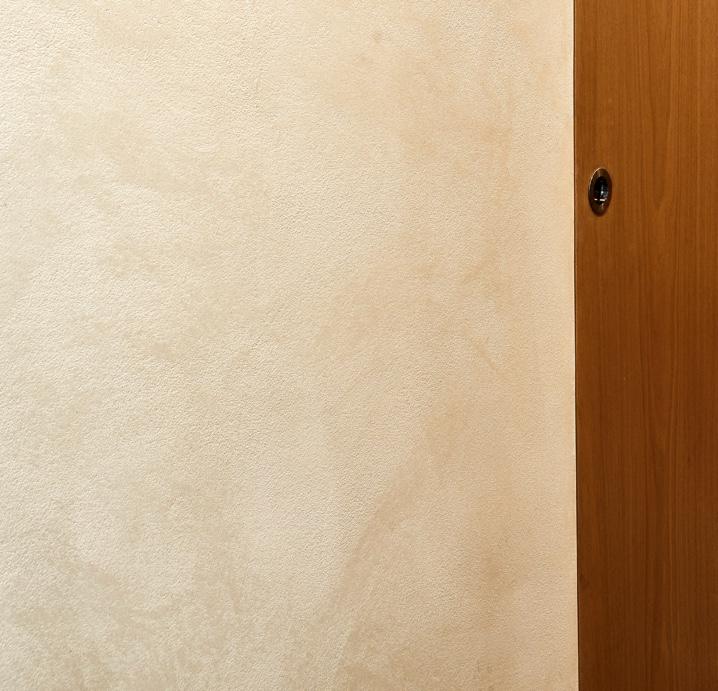 Lindsay St wall finish velvet carrara marmorino plaster