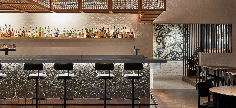 Harcourt textured internal render for restaurants